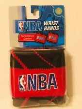 NBA Basketball Sweat Wrist Band Red One Size