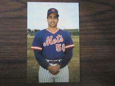 1986 Tcma New York Mets Sid Fernandez Postcard