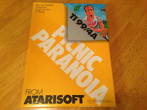 PICNIC PARANOIA Texas Instruments TI 99/4a Computer System - NEW CASE FRESH -NIB