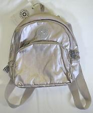 Kipling Paola Small Backpack Metallic Beige Best Gift Color
