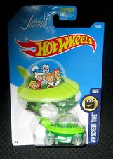 Hot Wheels New THE JETSONS Capsule Car #52 Green Screen Time