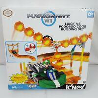 Nintendo Mario Kart Wii K'Nex Luigi vs Podoboo Cogs Building Set KNex 101pc