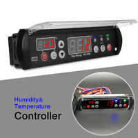 12V YK-302 Digital Temperature Humidity Controller Moisture Thermostat