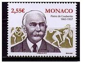 monaco ca 2013 pierre de coubertin jeux olympique olympic game 1v mnh **
