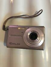 """Casio EXILIM ZOOM EX-27 7.2MP YouTube 2"""" LCD Digital Camera Silver / Grey"""