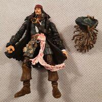 "Disney Pirates Of The Caribbean Dead Man's Chest Captain Jack Sparrow Figure 4"""
