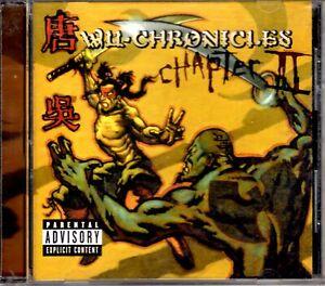 Wu-Chronicles Chapter II 2 2001 OG CD 1st Press Album Rap Hiphop WuTang Wu