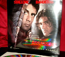 New! 'ASSASSINS' - Sylvester STALLONE Action on Dble 12-Inch Laser Disc, Sealed
