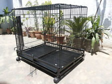 """ROYAL PET Dog Cage Imported  49"""" Inch For Dog and Birds with wheels"""