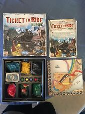 Ticket to Ride Europe - Lightly Used, in great shape, only minor wear on box