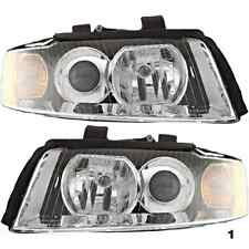 02-05 Audi A4 Gen2 & S4 Gen2 (except Cabrio) Left & Right Headlamp Assys (pair)