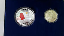 Malaysia World Team Table Tennis Championships Proof coin Set 2 Silver SN0067