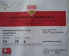 VIP TICKET 2. BL 2016/17 VfB Stuttgart - Karlsruher SC