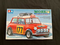 Tamiya Morris Mini Cooper 1275s Rally Part Completed (1/24 Scale No 48)