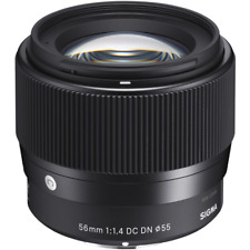 Sigma 56mm f1.4 DC DN Contemporary Lens - Canon EF-M Mount