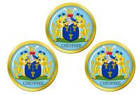 Cheshire (Angleterre) Marqueurs de Balles de Golf
