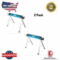 2 Pack Kobalt 43-in W x 30-in H Steel Saw Horse (1,100-lb Capacity Each)