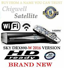 SKY DRX890 WL WIRELESS 500GB BRAND NEW SKY PLUS HD BOX ON DEMAND WIFI MODEL