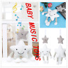 Newborn Pram Music Handbell Stroller Soft Hanging Toy Animal Rattles Toys 0-3 Ye