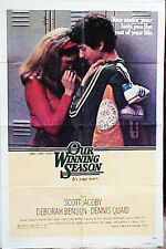 """High School Seniors in the 1960's & a Star Athlete in 'OUR WINNING SEASON""""poster"""
