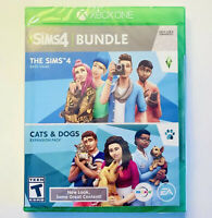 SIMS 4: Cats & Dogs Bundle (Xbox One) Brand New Sealed