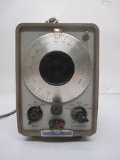 Vtg Hewlett Packard Hp 201c Audio Oscillator Test Equipment Powers On As Is