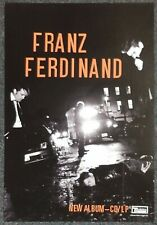 Franz Ferdinand Tonight: Franz Ferdinand 2008 Double-sided Promo Poster