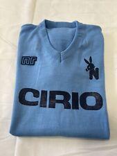 1 maglia NAPOLI CIRIO 10 CRISCIMANNI 1982/83 Tessuto acrilico vintage 'lanetta'