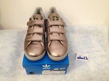 Adidas Stan Smith 2 CF 41 1/3 UK 7.5 US 9 BNWT 096440 Prod. 10/2007 Velcro Argent