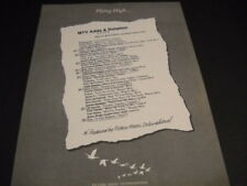 MTV Flying High 1984 PROMO AD The CARS 38 Special STEVE PERRY Jacksons PRINCE