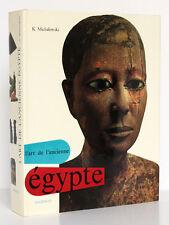 L'Art de l'Ancienne Égypte. Kazimierz MICHALOWSKI Mazenod 1968 Relié BEAU LIVRE