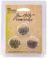Tim Holtz Idea-ology Mini Fasteners Embellishments New
