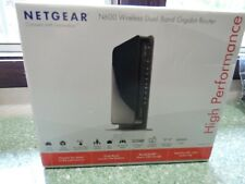 NIB Netgear N600 Dual Band Gigabit Wireless Router WNDR3700v3 High Performance