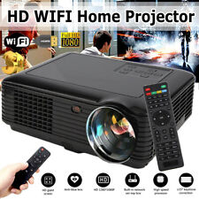 Multimedia 4K 3D WiFi Android Bluetooth LED Home Cinema Projector 7000 Lumens ca