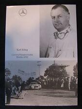 Card Karl Kling (GER) #4 Mercedes 300 SLR Carrera Panamericana 1952 (MBC)