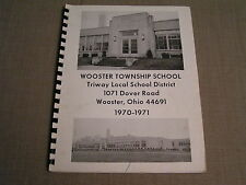 1970-1971 Wooster Ohio Township Triway Elementary School K-6 Yearbook Year Book