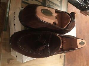 Moreschi Men's Suede Loafer Shoes