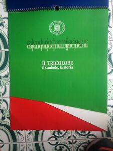 calendario 2005-Il Tricolore,il simbolo la storia-Presidenza Consiglio Ministri-
