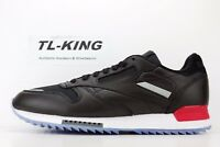Reebok CL Classic Leather Ripple Low BP Black White Red Dust Ice BS5218 IH