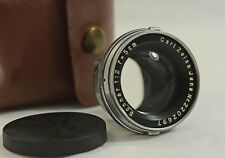 VINTAGE CONTAX RF MOUNT CARL ZEISS JENA 5cm F2 SONNAR CAMERA LENS