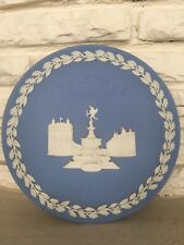 Wedgwood 1971 Christmas Plate Piccadilly Circus