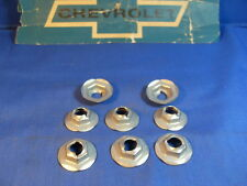 70-80 GM CAMARO CHEVELLE Pontiac CORVETTE PARK & SIDE MARKER LAMP PAL Nuts