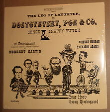 THE LEG OF LAUGHTER, OR DOSTOYEVSKY, POE - LP - SEALED Songs, etc - by A Wellman