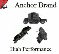 3 PCS Motor & Trans. Mount For 1999-2004 Ford Mustang 3.8L