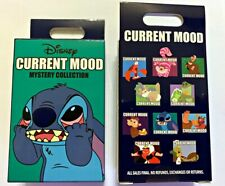 Disney Collectible Pin Pack CURRENT MOOD Mystery Box of 2 Pins Sealed NEW