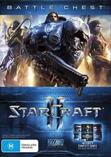 StarCraft II 2 Rare Battle Chest Trilogy 3 Sci Fi War Strategy Games Windows PC