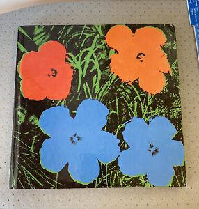 Andy Warhol Jeff Koons Flowers Book 2002 Gagosian Gallery New York Rare