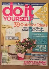 BH&G Do It Yourself Outdoor Ideas Budget Projects Summer 2015 FREE SHIPPING!
