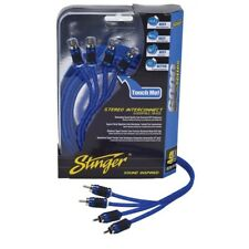 Stinger SI6417 4-CHANNEL SHIELDED DIRECTIONAL INTERCONNECT 17FT/5.2M