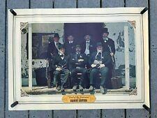 "VTG 1975-1976 BIANCHI Leather ""Last Of The Lawmen"" Advertising Poster 24""x33"""